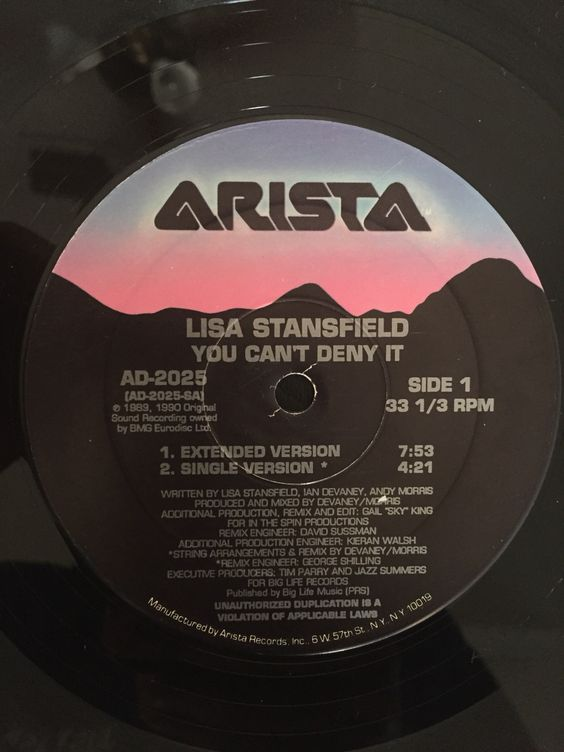 You Can't Deny It - Lisa Stanfield
