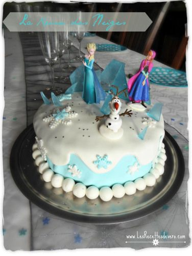 la reine des neiges frozen cake f te coralie 3 ans pinterest g teau glac la reine des. Black Bedroom Furniture Sets. Home Design Ideas