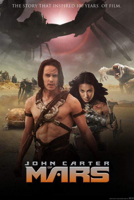 John Carter 2012 Dir Andrew Stanton Taylor Kitsch Lynn Collins Willem Dafoe John Carter Of Mars Lynn Collins Best Action Movies