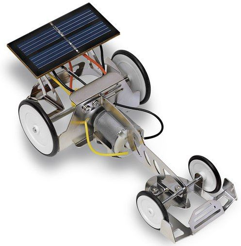 simple electric car kit with basic instructions, could probably make ...