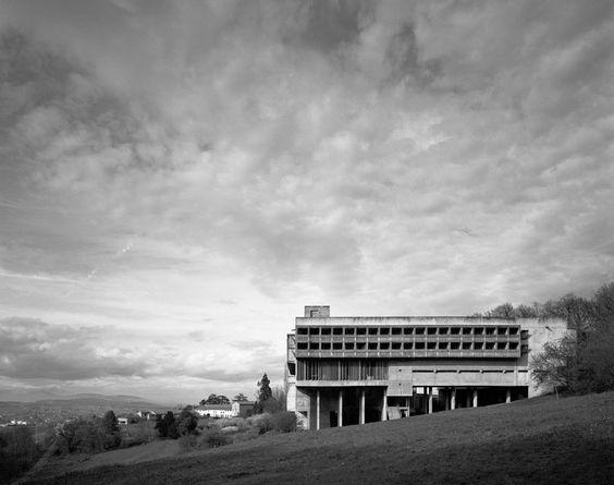 Couvent de La Tourette. Le Corbusier.