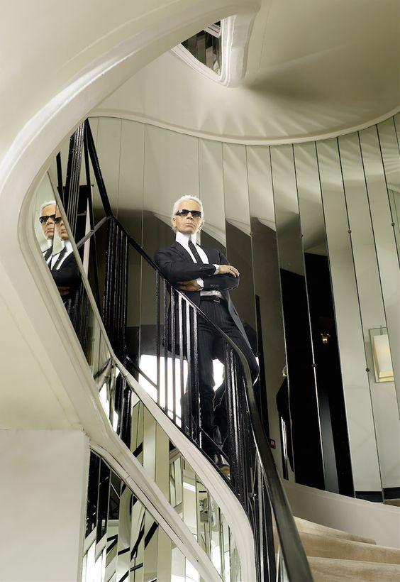 Autoportrait. Karl Lagerfeld