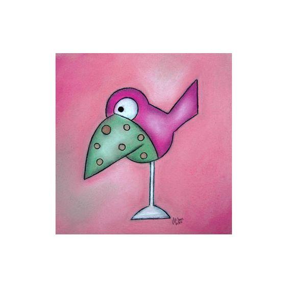 Rosa Zeiten Pastell/Kohle Zeichnung von ninaboosart auf DaWanda.com