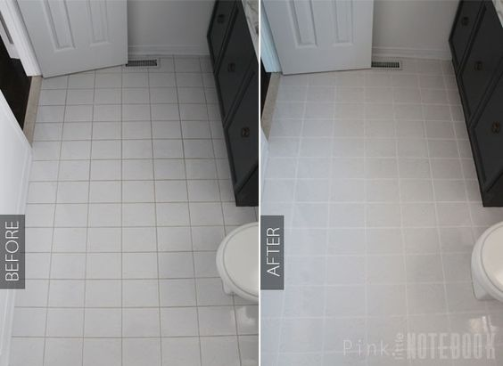 How to Freshen up your Grout Lines (for $2 or less) | Pink Little Notebook