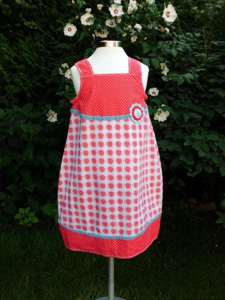 Madita Kleid Einschulung Rosali Wunschgröße :-) von Zwergen-Zauber auf DaWanda.com