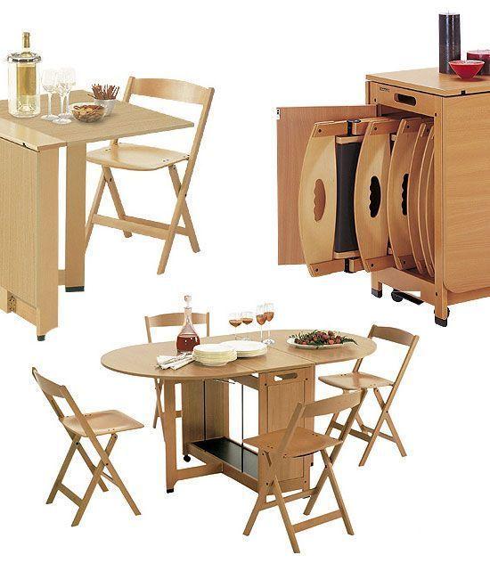Folding Furniture Furniture Living Furniture Small Furniture Room Furniture Furnitur In 2020 Kitchen Furniture Design Furniture For Small Spaces Folding Furniture