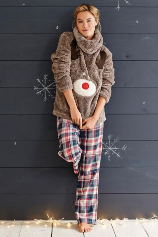 Buy Snuggle Reindeer Top from the Next UK online shop: