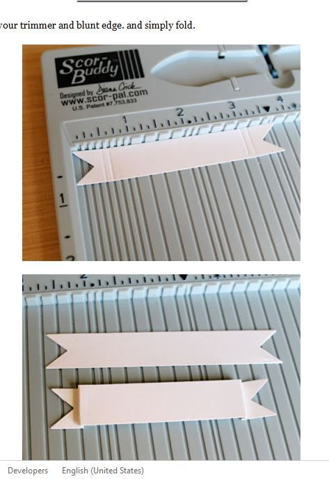 Cheaper than a die for such a thing. would work with stampin' up! score board too. Great idea.