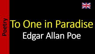 Alone - Edgar Allan Poe