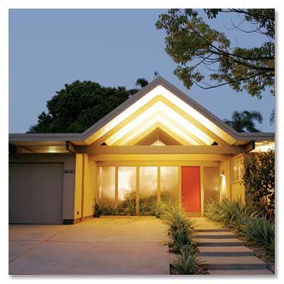 Joseph Eichler: Modernist homes built on a large scale (1950 - 1974). #Architecture #Joseph_Eichler