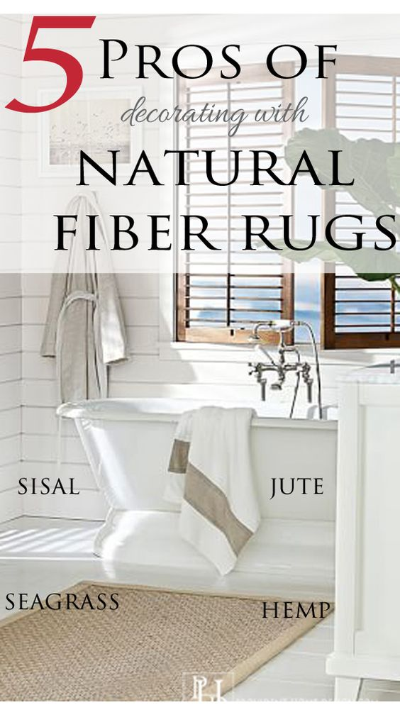 Come learn Why Natural Fiber Rugs are a great decorating option and get lots of design photo inspiration!  www.providenthomedesign.com.