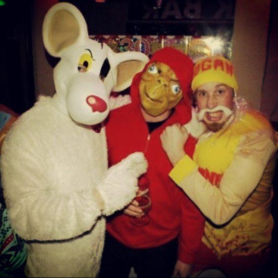 Danger Mouse, E.T. and Hulk Hogan#costumes