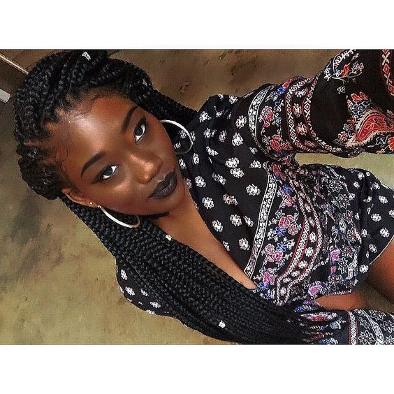 boxes braids and box braids on pinterest