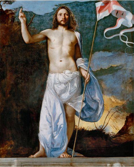 Risen Christ, Titian: