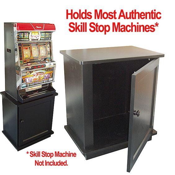 Solid Wood Slot Machine Cabinet Skill Stop Machine