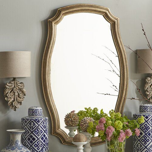 Dhruv Traditional Distressed Accent Mirror In 2020 Mirror Decor Accent Mirrors Mirror