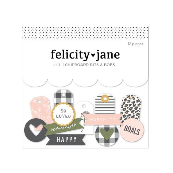 Felicity Jane Jill | Chipboard Bits & Bobs