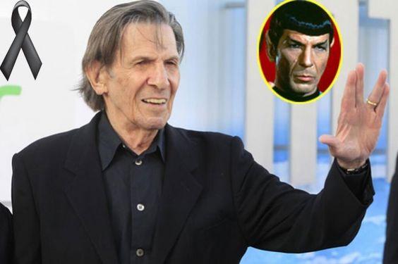 El 27 de febrero dijimos adiós a Leonard Nimoy, el señor Spock en Star Trek por una enfermedad pulmonar.