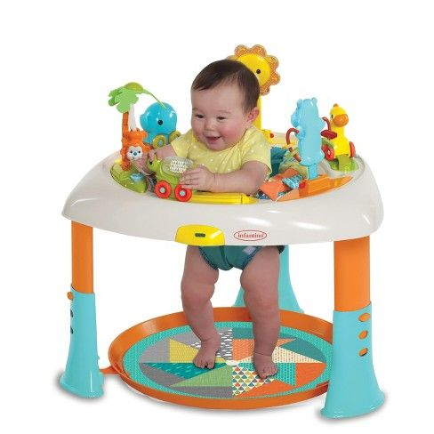 Infantino Go Gaga Sit Spin Stand Entertainer 360 Seat Activity Table Activity Table Play Activities New Baby Products