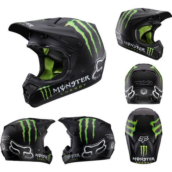 Monster Energy Drink Dirt Bike Gear