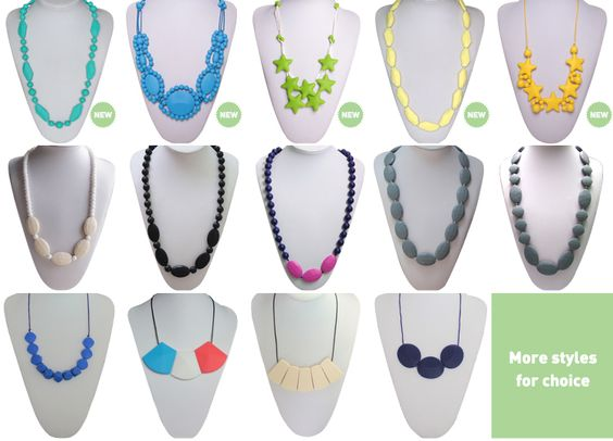 Fashion Silicone Teething Sophia Collection Jewelry