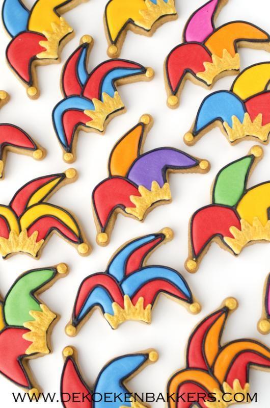 Carnaval koekjes - Koekjes | Pinterest - Mardi gras, Carnavals en ...