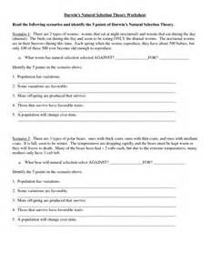 Printables Natural Selection Worksheet natural selection worksheet pichaglobal darwin 39 s answers additionally darwin