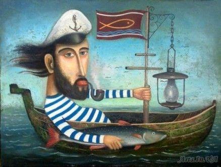 Sea dog, David Martiashvili: