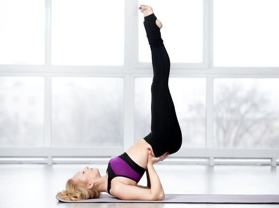 What Does The Viparita Karani (Legs Up The Wall Pose) Mean