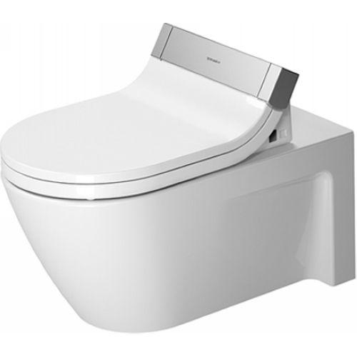 Duravit 25335900921 Starck 2 White Wall Mount Toilets |eFaucets.com