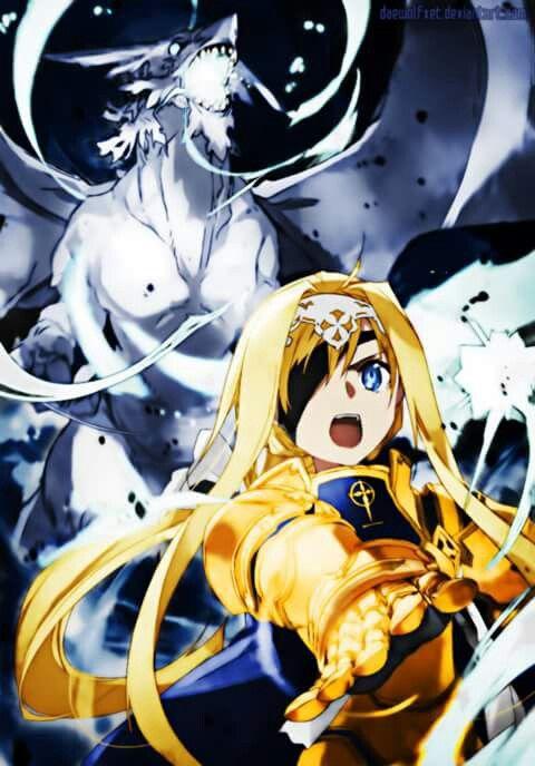 Alice Schuberg | Sword Art Online (SAO) Alicization-Underworld