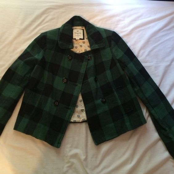 Heritage 1981 Cropped Jacket Perfect condition! High quality, thick fabric. Cropped pea coat style. All prices are negotiable so make an offer! Bundles welcome. Heritage 1981 Jackets & Coats
