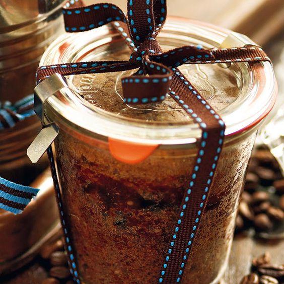 Rezept für Espressokuchen im Glas | Küchengötter