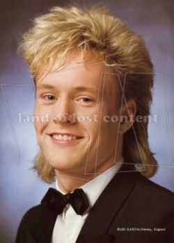 2 french braids hairstyles : 1980 hairstyle men hairstyle and more mullet haircut men s hairstyle ...