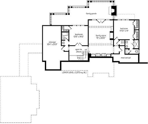 Cashiers cove house plan