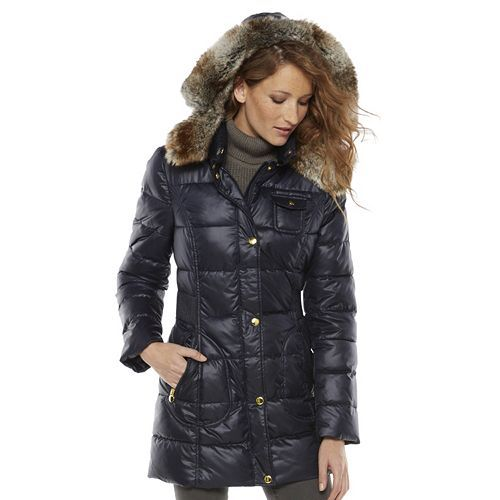 Apt 9 174 Hooded Puffer Jacket Women S Baby It S Cold