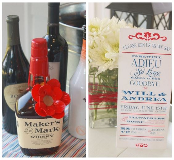 {Mirabelle Creations Party} -- Modern Going Away Party Ideas - Mirabelle Creations