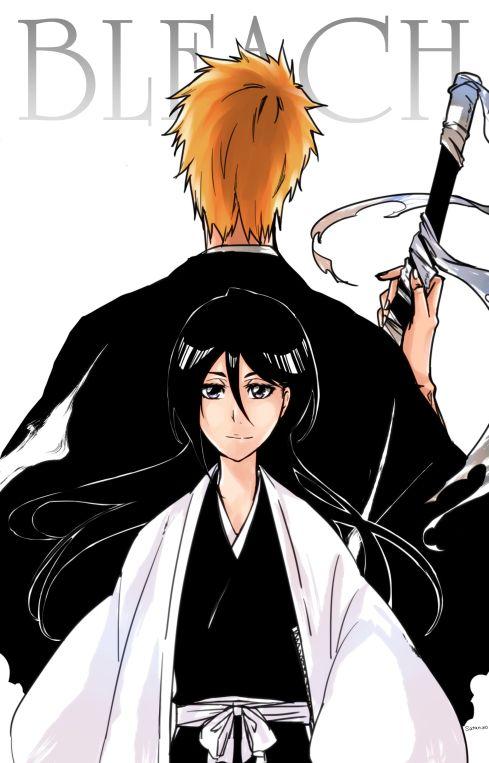 Kuchiki Rukia, Kurosaki Ichigo