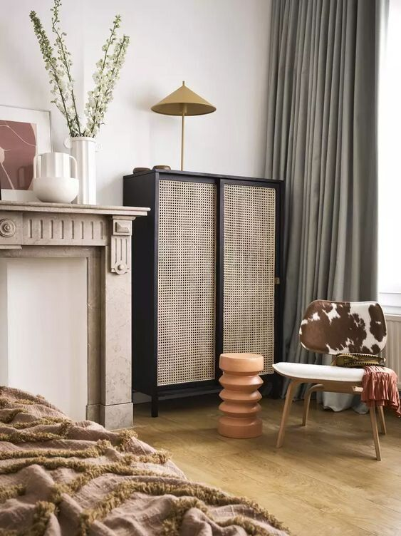 Decorating With Rattan Heed Interiors In 2020 Contemporary Side Tables Simple Furniture Decor