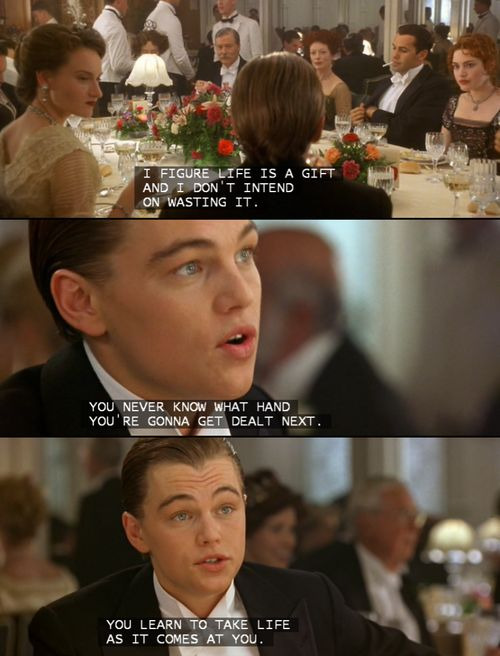 titanic; love him<3