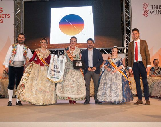Premis de Llibret de la Generalitat a les falles de Gandia.  http://www.josemanuelprieto.es