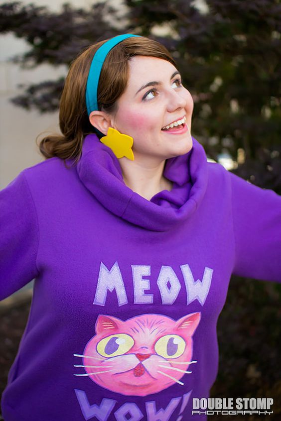 MEOW WOW Mabel Pines Inspired Sweater Made by AngryRobotsCosplay