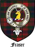 Fraser Clan Crest Tartan