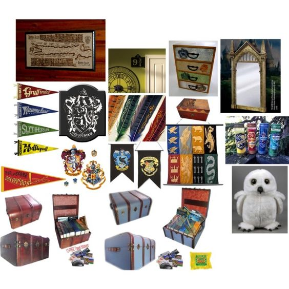 Harry potter room decor ideas all things harry for Room decor harry potter
