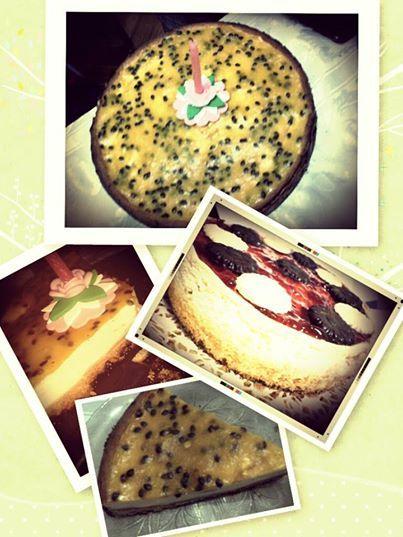 Variedades de chesscake!!!! riquisimas!! www.tortasparaceliacos.com.ar