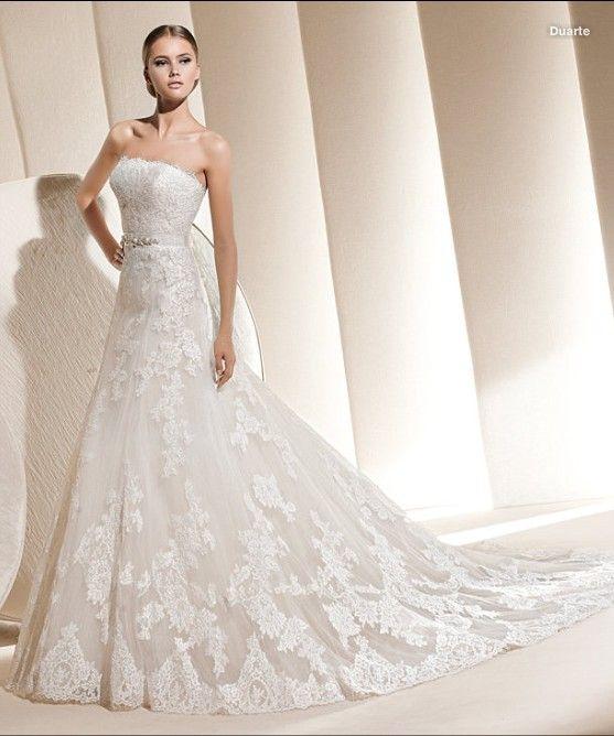 2013 chic Spitze A Linie princess Brautkleid Hochzeitskleid $244.29 2013