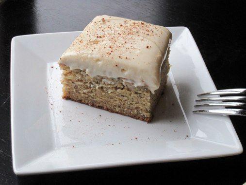 Vanilla Banana Cake