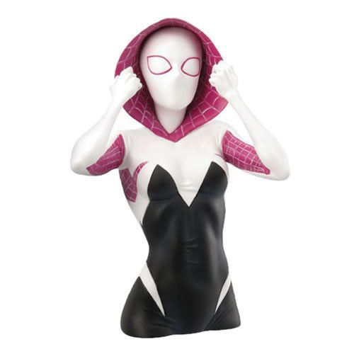 Banks - Marvel - Spider-Gwen Masked Bust Bank