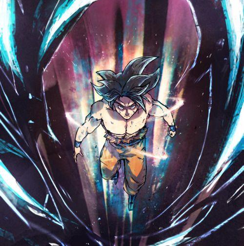 Son Goku Ultra Instinct Dragon Ball Super Art Goku