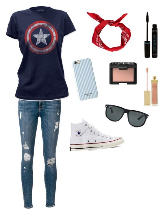 """""""Cute captain America outfit"""" by beautystars123 on Polyvore"""